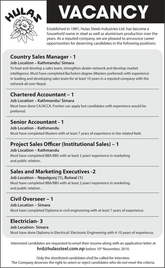 Sales and Marketing Executives